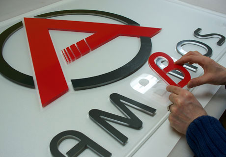Dimensional Acrylic Letters and Logos